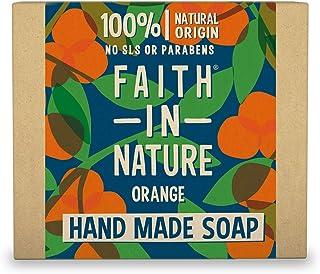 Faith in Nature 6543 Apelsin Stångtvål, 100 g