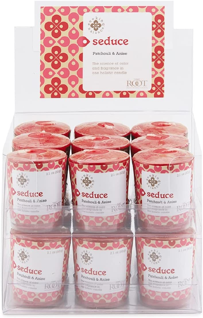 Root Candles Seeking Balance 20-Hour Votive 18-Pack Surprise price Free shipping Se