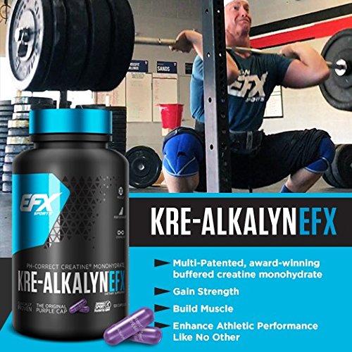 EFX Kre-Alkalyn 3000 – 260 Kapseln, 1er Pack (1 x 249 g) - 7