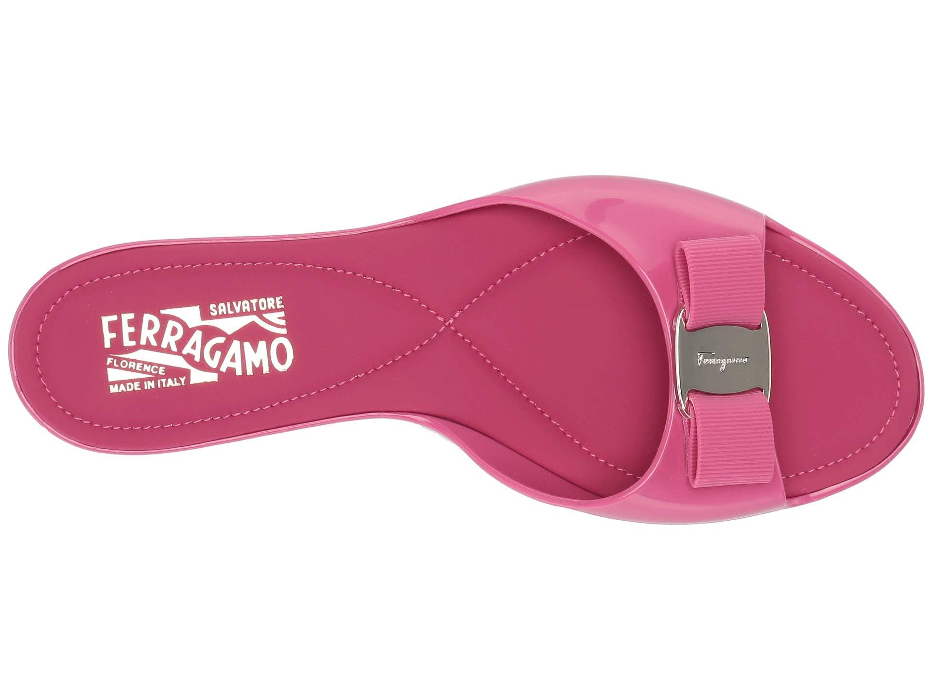 33cbca5387f3 Salvatore Ferragamo Cirella Slider Sandal at Luxury.Zappos.com