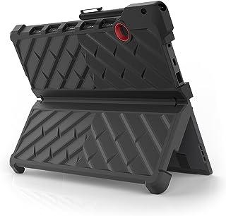 Gumdrop Cases DropTech 保护套,适用于 Lenovo Miix 720 坚固防震二合一平板电脑保护套DT-LM720-BLK_RED