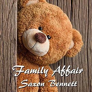 Family Affair audiobook cover art