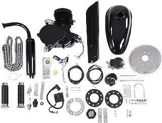 80CC Petrol Gas Motor Bicycle Engine Complete Kit Motorized Bike 2-Stroke (80CC)