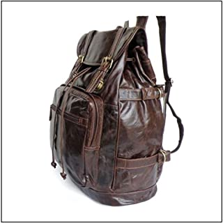 Funny School Backpacks School Large-Capacity Casual Backpack Fashion Trend Travel Bag (Color : Brown, Size : S)