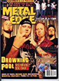 Metal Edge Magazine DROWNING POOL Stone Temple Pilots GODSMACK Godhead LIT Queensryche December 2001 C