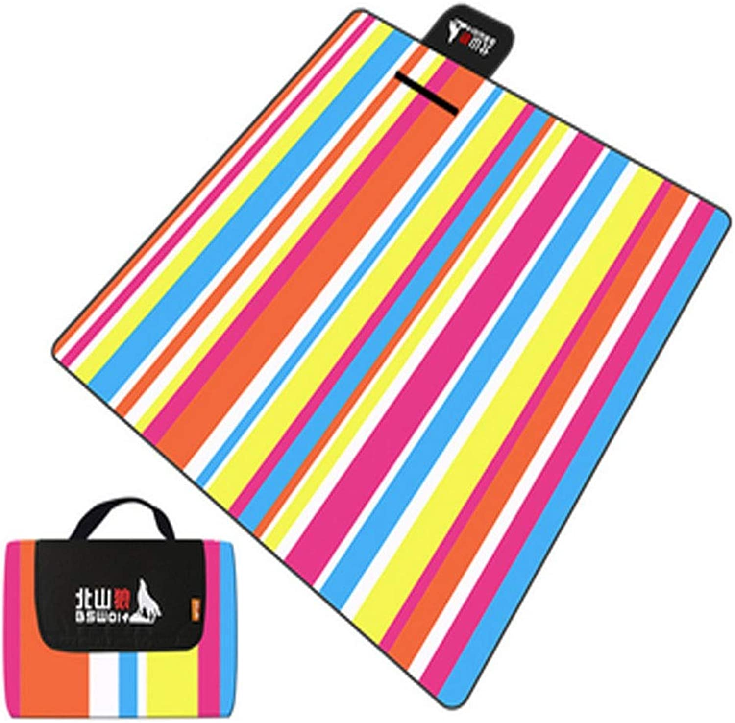 Camping Mat, Outdoor Waterproof Beach Mat, Picnic Mat, 200  200 cm, Suitable for Outdoor Travel, Multi-color Optional (color   A06, Size   200  200cm)