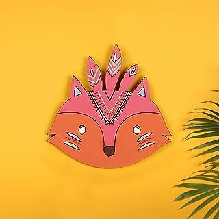 Crafty Fox Wall Decor Mask (7x0.2x7)