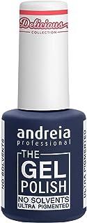Andreia Professional - The Gel Polish - Esmalte de Uñas en Gel sin Disolventes ni Olores - Color DC1 Neón Coral - Tonos de...