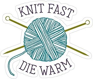 B. Strange Mall Knit Fast Die Warm Stickers (3 Pcs/Pack)