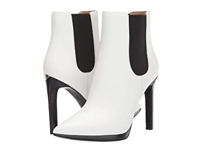 MICHAEL Michael Kors Brielle Bootie (Optic White) Women
