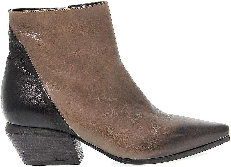 VIC MATI FRAMTID 65533;,65533; Woherrar VICM681 grå grå grå läder Ankle stövlar  online shopping och modebutik