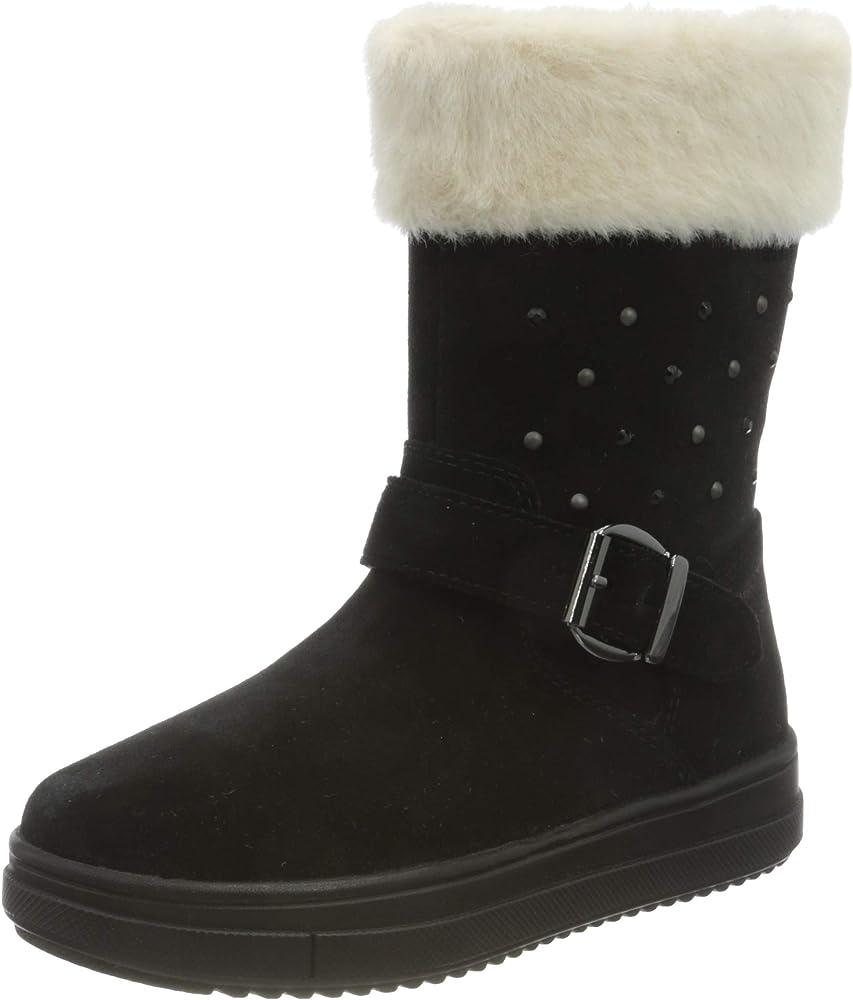 Geox j rebecca girl wpf a, mid calf boot bambina J04CVA00022