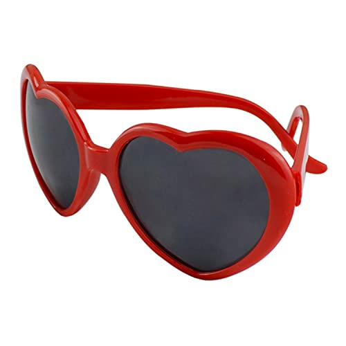 d53bdbc0fd Fashion Funny Summer Love Heart Shape Sunglasses