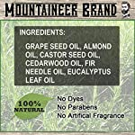 Beard Oil by Mountaineer Brand, WV Timber, Scented with Cedarwood and Fir Needle, Conditioning Oil, 2 oz bottle 5