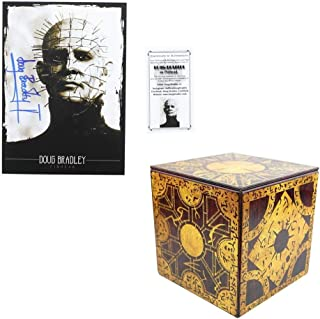 Hellraiser Set 2 with Puzzle Box Tin and Autographed Print