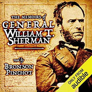 Memoirs of General William T. Sherman audiobook cover art
