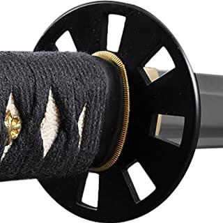Handmade Sword - Stainless Steel Unsharpened Iaido Training Katana/Wakizashi Sword, Iron Wakizashi