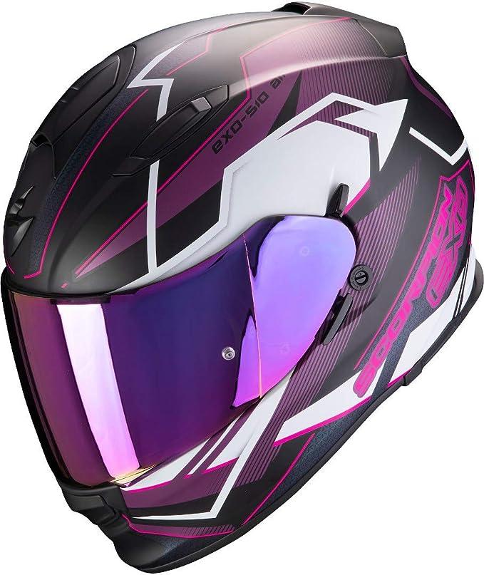 Scorpion Herren Nc Motorrad Helm Blau Rot S Auto
