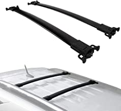 2010-2017 chevy equinox gmc terrain crossbars roof rack