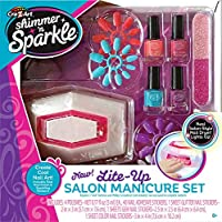 Shimmer N Sparkle Manicure Magic Lite Up Nail Dryer & Polish Set Manicure Set (17648)