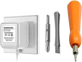 Voedingsadapter en 8M Kabel Adapter Smart Home Accessoires Compatibel voor Deurbel Video Deurbel 2 Pro (C)