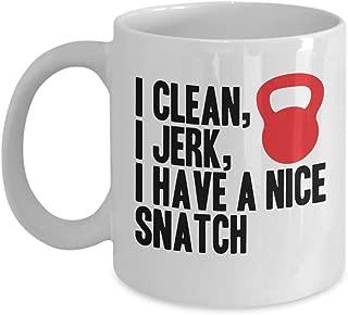crossfit kettlebell coffee mug