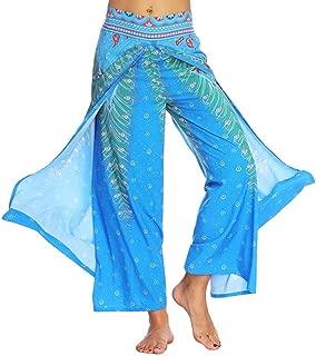 Women Casual Summer Loose Yoga Trousers, Boho Baggy Aladdin Jumpsuit Harem Pants, Elegant Comfort Plus Size Yoga Pants