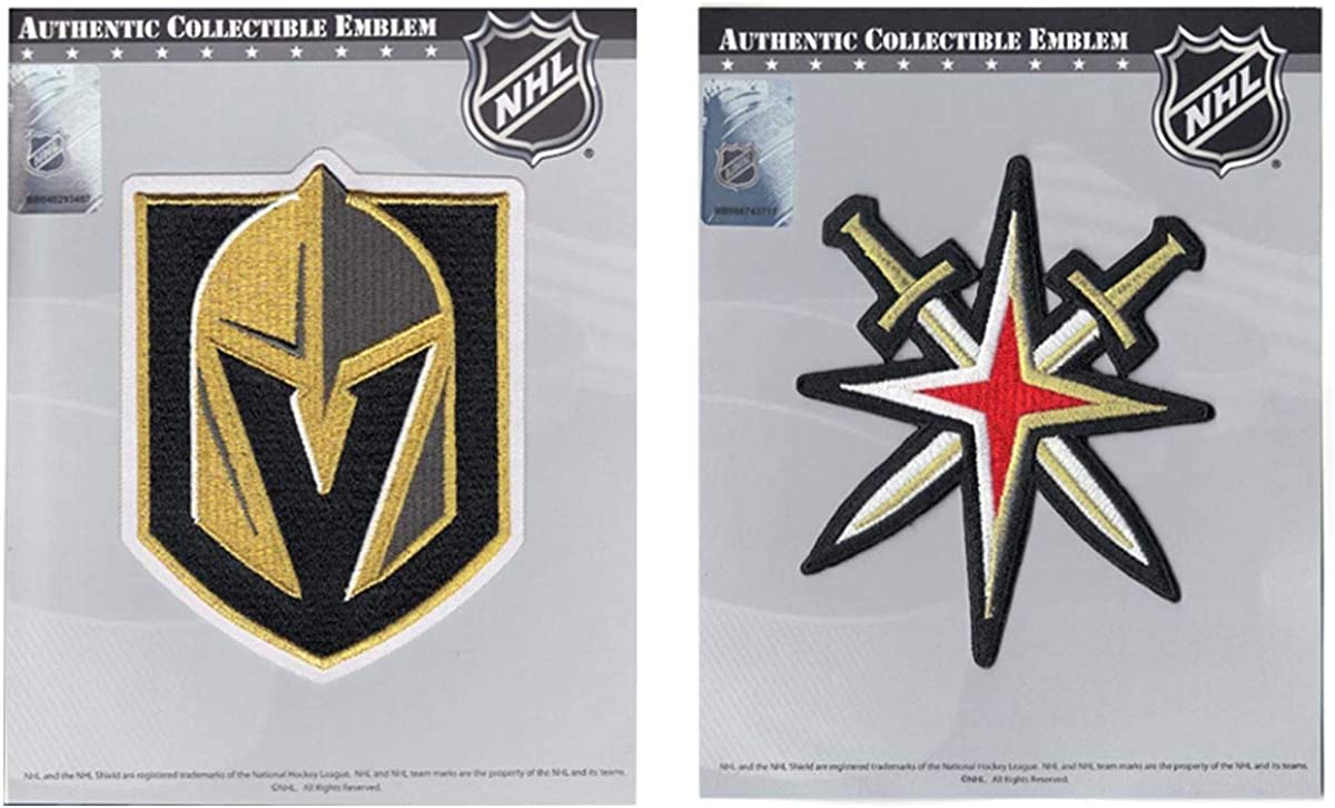 NEW before selling National Emblem Vegas Golden Knights Bargain Primary and Logo Secondary