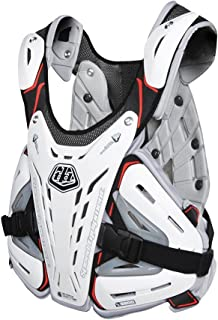 Troy Lee Designs BG5900 Adult Off-Road Chest Protector - White/Large
