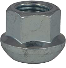 Longueur 67 mm Blanc galvanis/é Collerette molet/ée 12.4 mm EvoCorse Goujon de roue /à t/ête M12x1.5 4 pcs