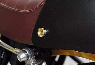 Triumph Tool Free Seat Cowl Bolts Thruxton Bonneville Scrambler T100 Brass