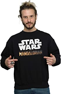 Star Wars Men's The Mandalorian Logo Sweatshirt