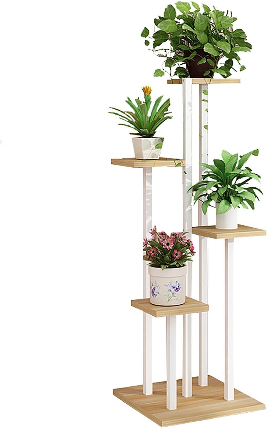 Max 53% OFF Flower Shelves,Metal Stand Wooden Mult Rack Tabletop Super intense SALE