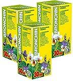 Bronchin Phyto Concentré Pack de 3 - Cours de 21 jours - Extraits de plantes naturelles - Santé respiratoire - Toux - Bronchite