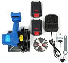 Sierra circular eléctrica Circula-128VF 20V Máquina multifuncional de corte manual para carpintería doméstica(欧规220v)