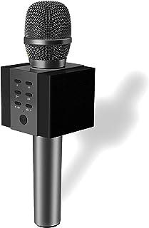 TOSING 008 Wireless Bluetooth Karaoke Microphone,Louder Volume 10W Power, More Bass, 3-in-1 Portable Handheld Double Speak...
