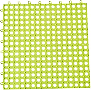 Fine Bathroom Non-Slip Mat, Carpet Shower Splicable Shower Mat,Safe Shower Mat with Drain Holes Suction Cup Skid Pad for Stalls, Floors, Tub