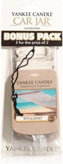 Yankee Candle Sun & Sand 3 Pack Car Jar