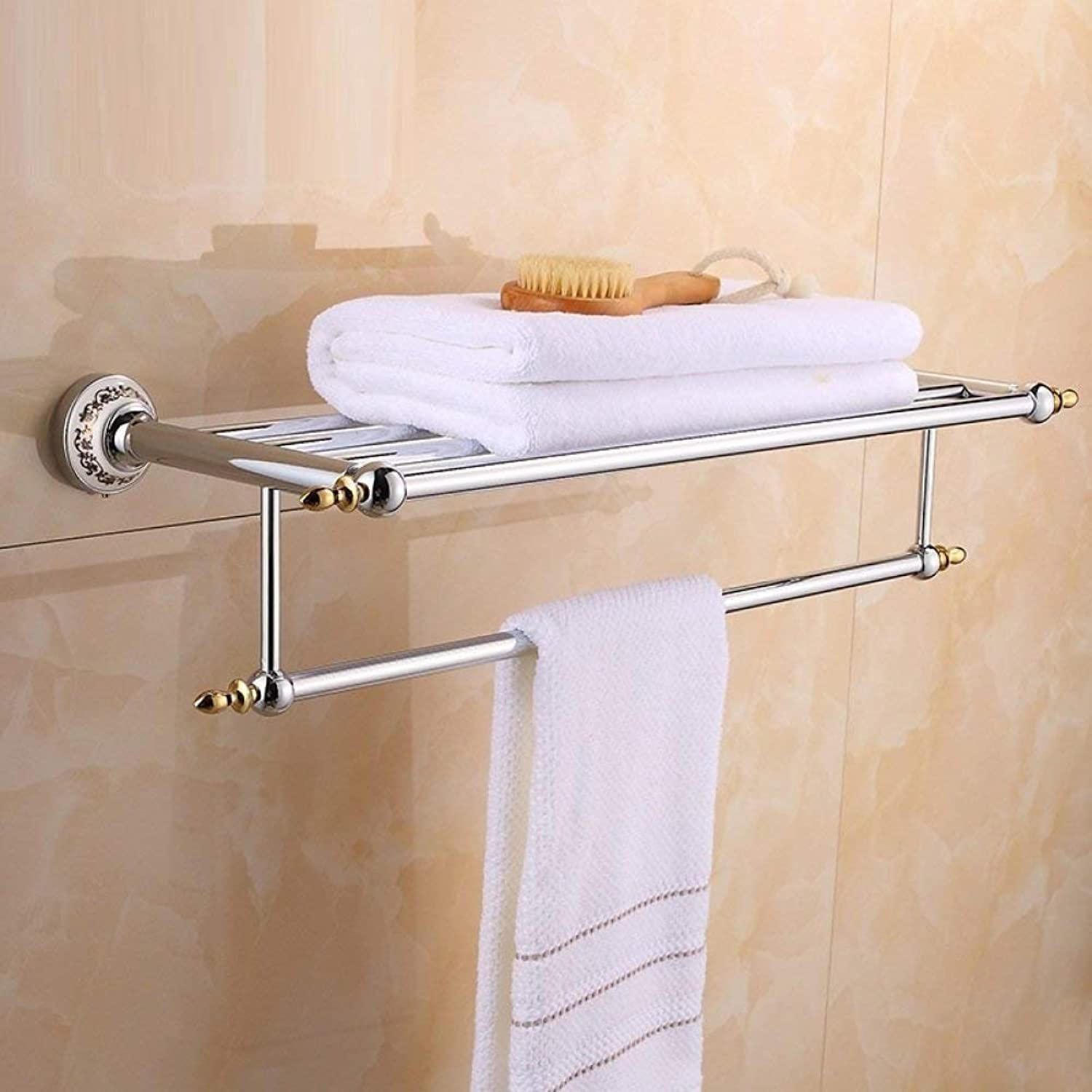Copper European Retro, Dry-Towels, Shelves, anticorrosion and Home Bathroom Accessories for The Decoration of The Hotel