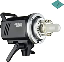 Godox MS200 Studio Flash Strobe Light Monolight 200Ws GN53 5600K Built-in 2.4G Wireless X System with 150W Modeling Lamp Bowens Mount for Indoor Studio Product Photo Portrait Photography