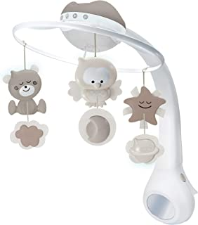 Infantino 3 In 1 Projector Musical Mobile - Ecru