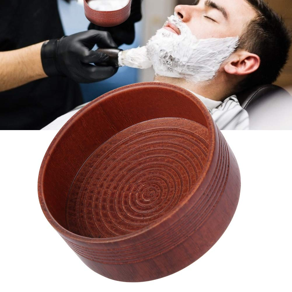 Haokaini Wooden Ranking integrated 1st place Shaving Soap Bargain sale Bowl Brush Beard