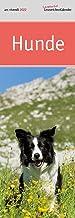 Lit. Lesezeichenkalender Hunde 2022: Monatskalender mit Fotografien und Zitaten
