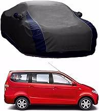 MotRoX Lively Water Resistant Car Body Cover for Chevrolet Enjoy (Grey & Blue - V Shape)