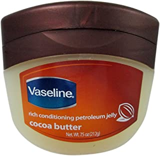 Vaseline Petroleum Jelly 7.5 Ounce Cocoa Butter (221ml) (3 Pack)