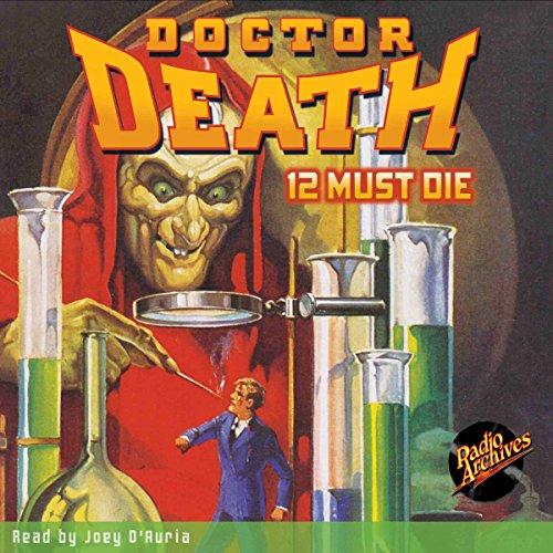 Doctor Death #1: 12 Must Die audiobook cover art