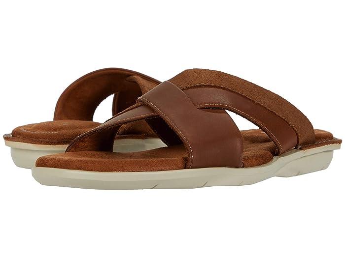 Clarks  Ellison Free (Tan Leather) Mens Shoes