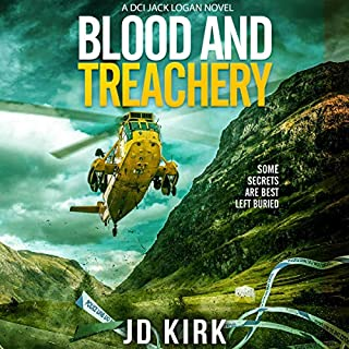 Blood and Treachery (A Scottish Crime Thriller) cover art