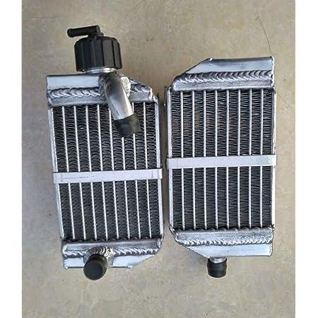 2pcs Aluminum Engine Water Cooling Radiators for KTM SX 50 2012-2019 34mm Core