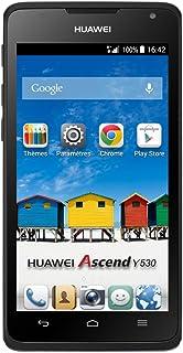 "Huawei Ascend Y530 - Smartphone Libre Android (Pantalla 4.5"", cámara 5 MP, 4 GB, Dual-Core 1.2 GHz, 512 MB RAM), Negro"